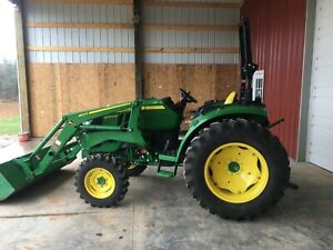 2018 John Deere 4044m 44 Hp 4wd Compact Utility Loader Tractor 68 Hours