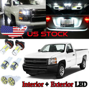 6k White Led Interior Exterior Fog Lights Fit 2010 2019 Toyota 4runner tool Us