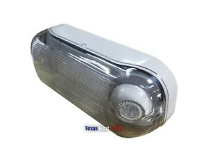 Led Outdoor Emergency Light W Battery Back Up Wet Location Ul Listed Dbel