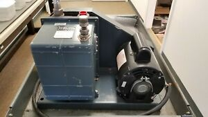Welch 1402 Duo seal Vacuum Pump W A o Smith 1 2 Hp Motor Rs1054a 115 230v