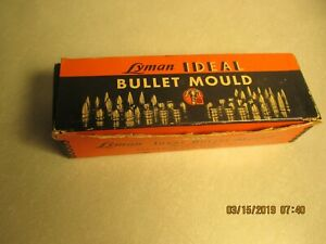 LYMAN IDEAL BULLET MOULD & 310 LOADING TOOL W.DIES W.DIES;.222 CALIBER;IN BOXES