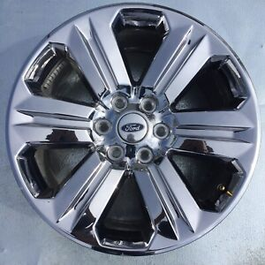 20 Inch Ford Expedition King Ranch Chrome 2018 2019 Oem Genuine Wheel Rim 10171