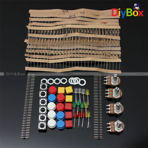 Diy Kit Electronic Parts Pack Set For Arduino Component Switch Potentiometer