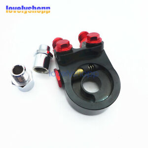 An10 Oil Cooler Adapter Sandwich Turbo Kit Thermostat Fitting 3 4 16 Unf M20x1 5