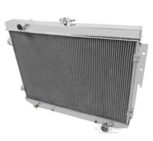 1974 Dodge Charger Aluminum 3 Row Champion Radiator