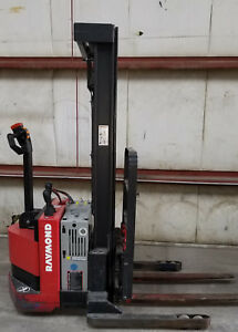 Raymond Rss40 Electric Walkie Stacker Forklift