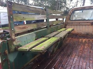 Dodge M880 W250 1977 Bed With Transport Seating