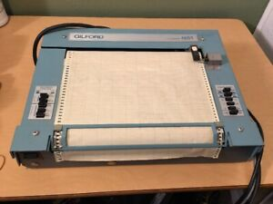 Gilford In Vitro Diagnostic Strip Chart Recorder Model 6051