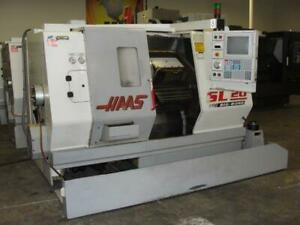 Haas Sl 20tbb 23 Swing 10 Chk Cnc Lathe New 1999 Jc