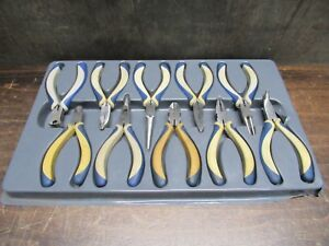 Blue point Model Bmpl1000 10 piece Miniature Pliers And Cutters Pre owned