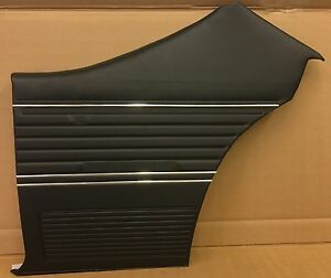 1969 Chevelle Coupe Pui Platinum Rear Interior Door Panels Assembled in Stock