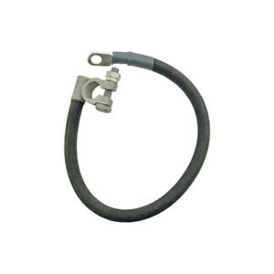 Ford Pickup Truck Battery To Starter Relay Cable Covered With A Tar coated