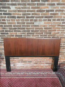 Lane Vtg Mcm Sculptural Walnut Full Size Headboard Kagan Danish Style