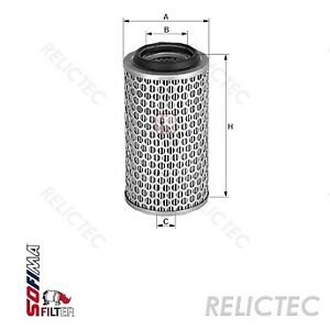 Air Filter S0450a For Scania Claas Enasa Liebherr Demag Volvo Astra Iveco Khd