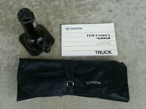 1991 Toyota Dlx Pickup Truck Jack Tool Kit Pouch Owners Manual Oem Parts