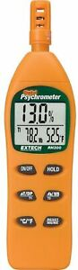 Hygro thermometer Psychrometer Measure Detect Temperature Backlit Data Hold
