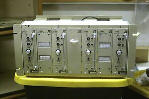 Rack Module With 4 Tait T355 52 Receivers And 2 T359 02 Speaker Base Station