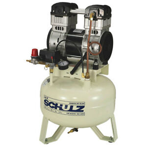 Air Compressor Oil less 1 5hp 110 Volt 8 Gallon 9 Cfm 120 Psi