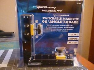 Forney Indust Pro 58565 Magswitch Switchable Magnetic 90 Degree Angle Square