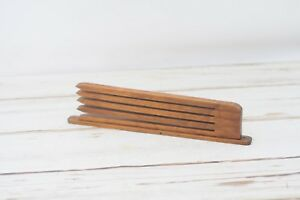 Antique Primitive Wood Wall Hanging Candle Drying Rack