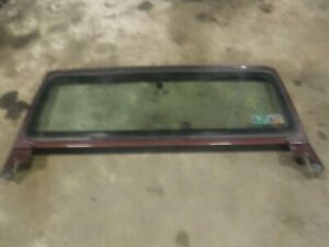 Jeep Wrangler Tj 97 02 Factory Windshield Frame W Free Glass See Ad