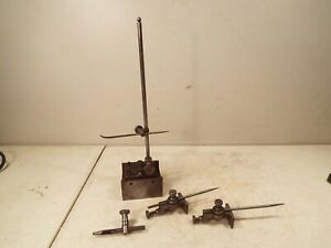Starrett Surface Gauge No 57a And Other Accessories Machinist Tools