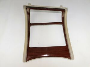 2002 Cadillac Escalade Lower Bezel Center Console Cup Holder Panel Trim Oem