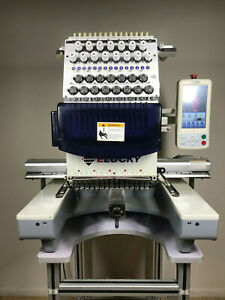 Commercial Embroidery Machine Single Head 15 Needles Touch Screen local Pickup