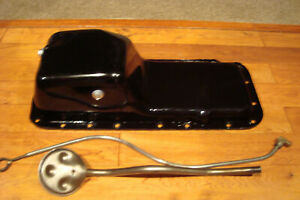 Dodge Truck Rear Sump Oil Pan 383 400 440 Big Block Original Mopar Oem 1972 Up