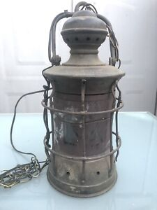 Vintage Nautical Lantern Marine Ship Light