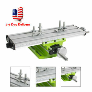usa Bench Drill Press Cross Slide Vise X Y Axis Table Milling Drilling Device