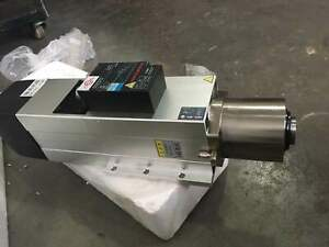 Atc Spindle Motor 4 5kw Iso30 Air cooled Automatic Tool Change dhl Free Ship