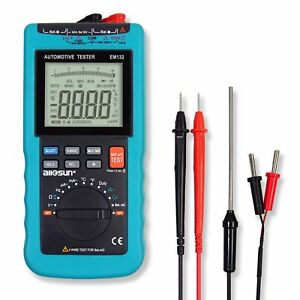 Digital Automotive Autorange Digital Multimeter 3 3 4 Rpm Dewll Angle Backlight