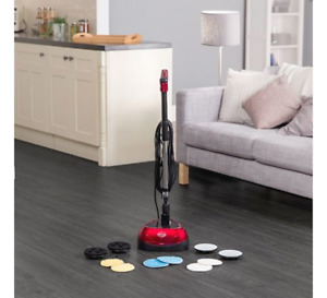 Electric Hard Floor Polisher Cleaner Scrubber Buffer Tile Wood Telescopic Handle