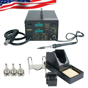 2in1 Smd Rework Soldering Station 852d Welding Tool Welder us Ship