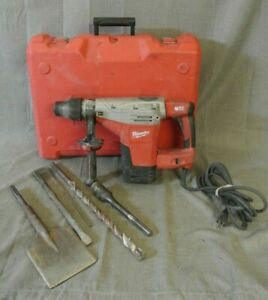 Milwaukee 5426 21 1 3 4 Sds max Rotary Hammer In Red Case 122365 1 Nw