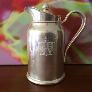 Reed Barton Vintage Silver Soldered Insulated Pitcher 300 Ip 132