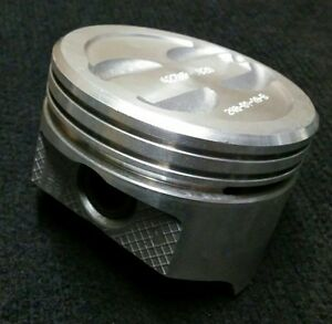 Chevy 350 Sbc 423np 020 Cast Piston With Wrist Pin Dished