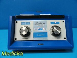 Beltone Audio Scout Audiometer W Headset Adapter Response Clicker 17611