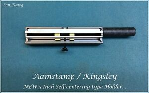 Aamstamp Kingsley Machine 5 Self Centering Type Holder Hot Foil Stamping