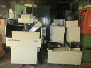 Mitsubishi Model Cx2 28 w X 26 d Tank Cnc Wire Edm Machine New 1995