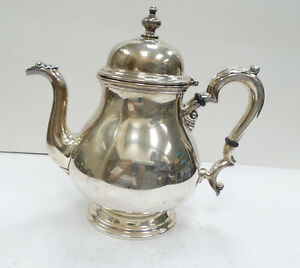 Beautiful International Silver Sterling Kenilworth Teapot A3603