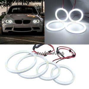 Led Angel Eyes Halo Rings Kit For 07 11 Bmw E92 E93 3 series M3 Coupe Headlights
