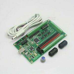 3 Axis Cnc Usb Card Mach3 200khz Breakout Board For Cnc Milling Machine Usa