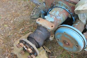 Fordson Major Diesel Parting Out Complete Final Drive Left Farmerjohnsparts