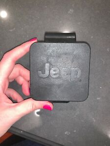 Trailer Tow Hitch Cover Receiver Plug Jeep Oem 68080098ab Rubber New