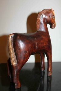 Antique Chinese Hand Carved Horse