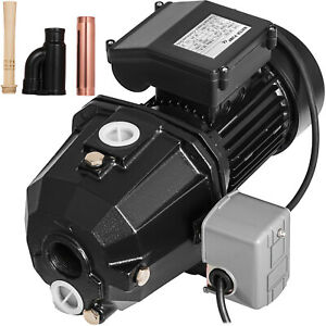 1 Hp Shallow Well Jet Pump W Pressure Switch 110v Water Ip44 Irrigation Pro