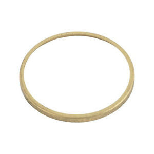 Model A Ford Speedometer Lens Retainer Round Brass 28 21774 1