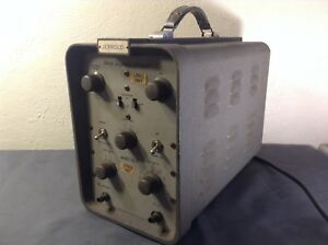 Jerrold Model 601 Portable Sweep Frequency Generator Powers On